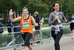 Two runners for World Animal Protection