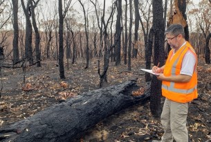 World Animal Protection's disaster team visiting bushfire affected areas south of Sydney