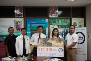 Tiger Temple petition sign ups handover to the Thai Authorities