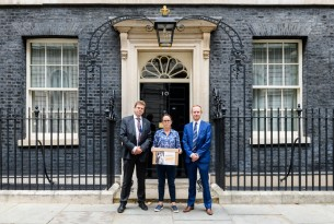 10 Downing Street animal sentience petition hand-in
