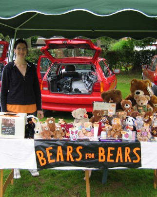 Car boot sale for World Animal Protection