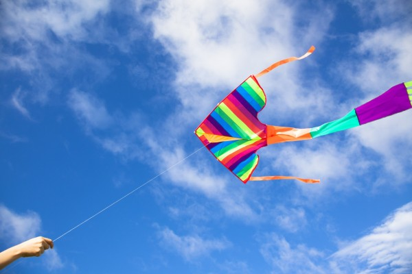kiteflying during Indian festivals