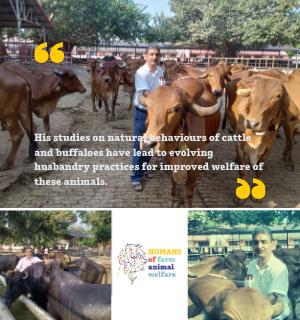 Dr. M. L. Kamboj Humans of farm animals