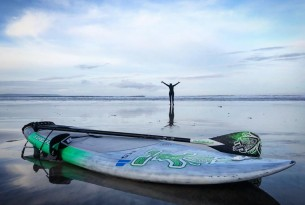 Paddling against plastic - Dr Cal Major's mission to clean up our oceans