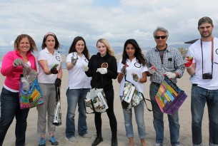 Sea Change campaign Venice Beach cleanup