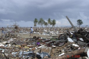 World Animal Protection - Tsunami damage on boxing day 2004 in Indonesia