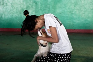 Meet some of the dogs and people you're protecting from rabies in the Philippines